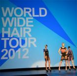 Davines celebrates the 17th edition of the World Wide Hair Tour in California.