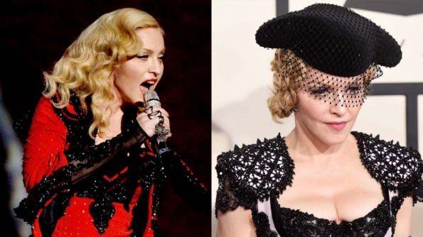 Madonna's look