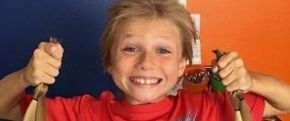 Donating hair at just 8 years old
