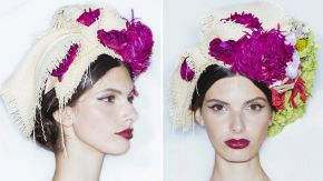 Get the look: Dolce&Gabbana Couture's Sleek chignon by Redken's Guido