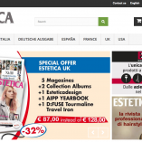 Estetica eCommerce. The new portal for magazine subscriptions