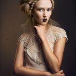 Hair: Lorna Evans / Photo: Jason Lau / Make-up: Melissa Maier / Styling: Lea Oldjohn Designer: Gwendolynne Products: Thredlox™