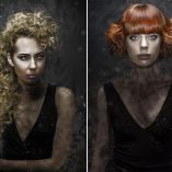 Hair: Sonya Dove Photo: Nicolas Troncin / Make-up: Megan Sutherland / Color and Styling: Wella / Scissors: BMAC USA Treatments: Malibu C