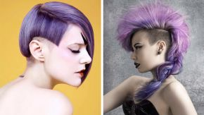 Juicy vibrations: Estetica USA's top ten purple hairstyles of 2015