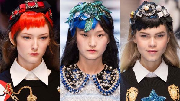 Get the Look! Dolce&Gabbana Edgy Bangs Extravaganza by Guido for Redken