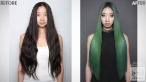 Video Alert! How-To: Hidden Treasure Green Hair Color with PRAVANA VIVIDS Jewels