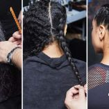 Sporty Look How To: Parallel Plaits by Frank Rizzieri for Aveda