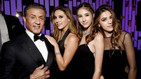 How To! The Stallone Sisters' Miss Golden Globes Look by Jonathan Colombini using Oribe