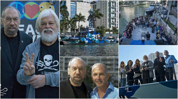 Sea Shepherd Launches Anti-Poaching Vessel M/V John Paul Dejoria