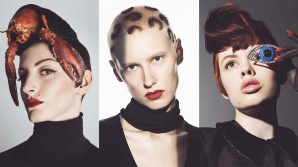 Amour Fou by Mark Hayes, Sassoon International Creative Director