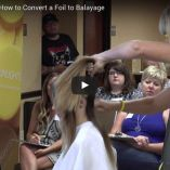 Video Alert! Candy Shaw shares How to Convert a Foil to Balayage