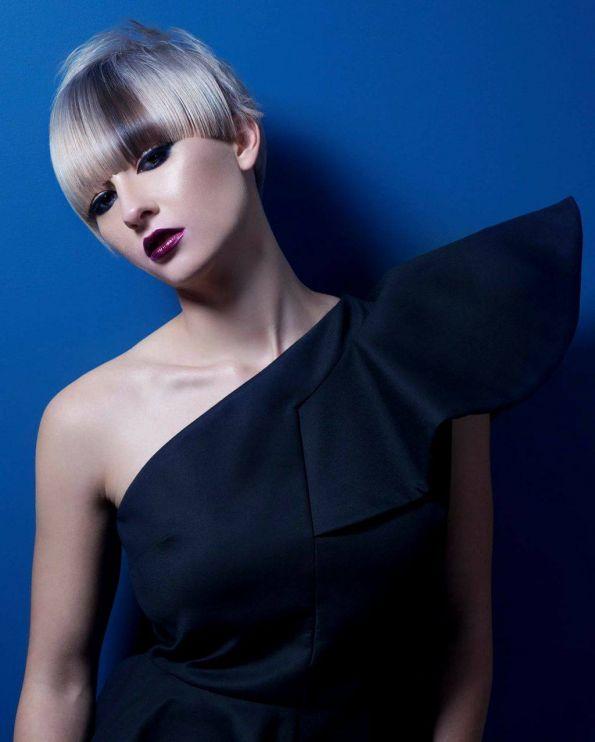Hair: Eddy Burgos / Salon: Nuvä Beauty and Spa / Photo: Ara Sassoonian / Makeup: Ekaterina Ulyanoff / Styling: Kathleen La Ronde / Modeling: Honey Benjamin, Flavie Guavreau