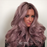 Metallic hair by Guy Tang