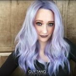 Video Alert! How To: Metallic Frozen Orchid Hair by Guy Tang