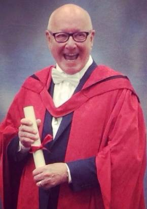 Trevor Sorbie Receives Honorory Doctorate
