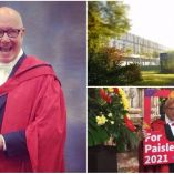 Trevor Sorbie Receives Honorory Doctorate