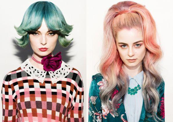 Hair: Louise Williamson @Stevie English Hair Styling: Melanine Corthine Make up: Sally Chapman Photo: Mal Q Damkar