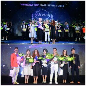 Vietnam Top Hairstylist Award by Salonzo Cosmetic
