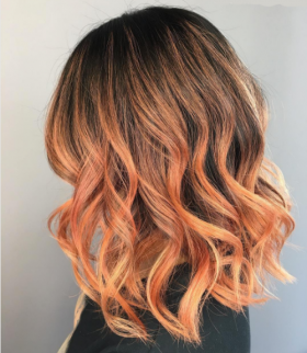 Blorange: the hair colour that stars love