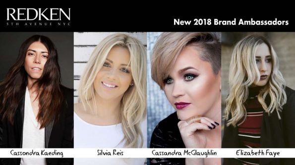 Nextgen Trendsetters! Redken Announces New 2018 Brand Ambassadors