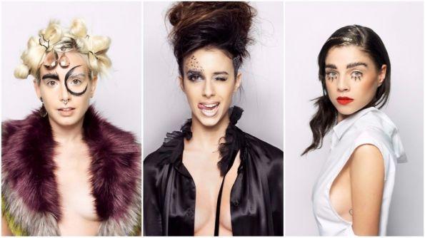 Hair: Chiara Falasca Zamponi @ Max Courses Hair Design | Artistic Director: Massimo Corsi | Make-up: Ghisce C. Hair & Make-up artist | Styling: Francesca Marchetti Photograph | Photos: Andrea Piunti Studio | Products: Paul Mitchell
