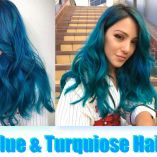 Video Alert! How To: Aqua Blue & Turquoise Haircolor By Guy Tang