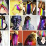 #Hiddenrainbowhair