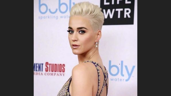 Get The Katy Perry Look + Color Formula: Oscars' Platinum Pixie By Rick Henry