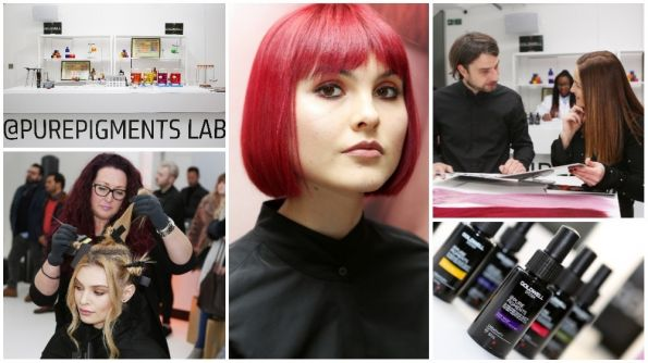 @Pure Pigments Tours Uk At Goldwell'S Education Live 2018