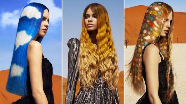 Hair: Angelo Seminara for Great Lengths using Davines Products | Photo: Andrew O'Toole | Makeup: Daniel Kolaric | Styling: Niccolo Torelli