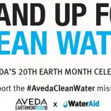 Aveda'S 8Th Year In Support Of Water Aid