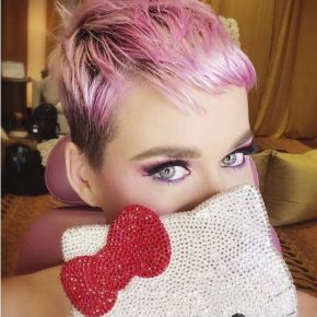 Get the Look: Katy Perry's Cherry Blossom Pink!