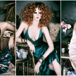 Hair: Shane Henning @Noddy's on King Hairdressers Sydney Australia/ Make up: Laura Nolan/ Photo: Troyt Coburn/ Products: Goldwell