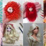 Royal Dolls: Rafinha Silva's Wigs