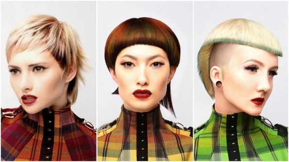 Hair: Ceri Cushen, Colour Director @ Metropolis Hairdressing Styling: No Wear Designs Makeup: Sascha Rai Photos: Robert Masciave Products: Revlon Professional