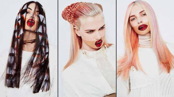 Hair: Grace Dalgleish at Brooks & Brooks, London  / Make-up: Hannah Davies  / Stylist: Karina Jones  / Masks: Alexandra Abraham  / Photos: Jenny Hands