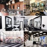 Geometric Style Furnishing: 5 Awesome Salons to Inspire You