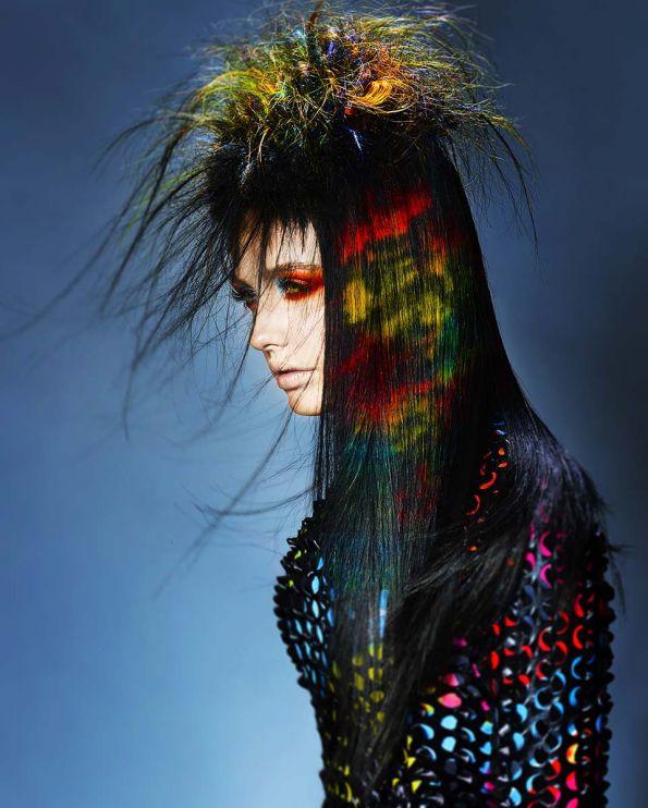 Hair and Colour: Chrystofer Benson  Photos: John Rawson @ TRP  Assistant: Paul Gill @ TRP  Make-up: Danielle Donahue  Styling: Hannah Leigh