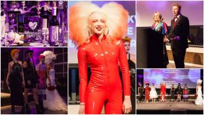 The hairdressers' charity's night of glamour