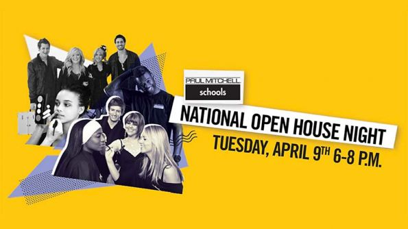"Over 100 schools! ""National Open House"" night at Paul Mitchell Schools"