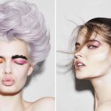 Hair: Sophie Gibson @ Hooker & Young/Makeup: Megumi/Photo: Jack Eames