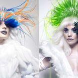 Hair: Gonzalo Zarauza & Alex Azurmendi @ Centro BETA/Photo: David Arnal/Makeup: De María/Retouch: Javier Villalabeitia/Stylist: Visori Fashionart/Extensions: Elegance Hair Extensions