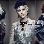 Hair: Cos Sakkas, TONI&GUY, London Makeup: Lan Nguyen-Grealis Styling: Sara Dunn Photo: Jack Eames