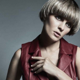 Hair: Christophe Gaillet / Photos: Pawel Wylag / Make-up: Natasza  Bigos / Styling: Joanna Wolff / Production: MKproduction & Christophe Gaillet
