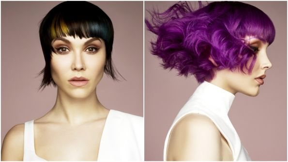 Hair: Suzie Clelland, Marc Antoni Group  Photo: Richard Miles  Makeup: Katie Moore  Styling: Ellen Spiller