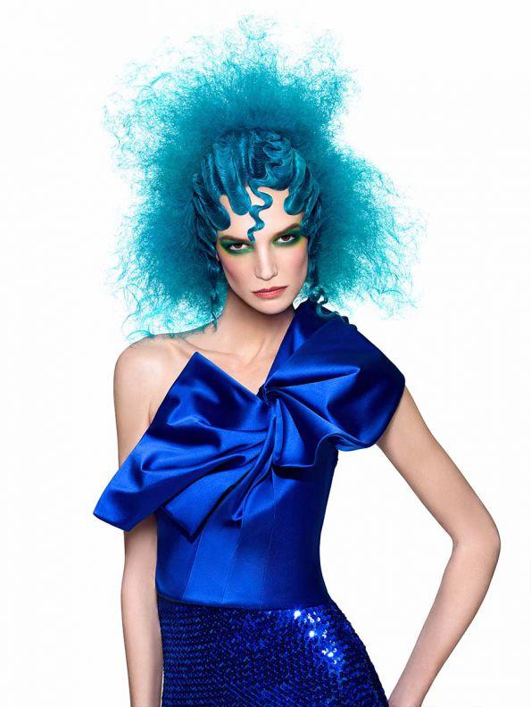 Hair: Adrian Gutierrez / Photos: Damien Carney / Make-up: Joanne Gair / Clothes Stylist: Nikko Kefalas