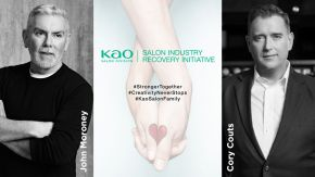 KAO Salon Division's proactive global support of the salon industry