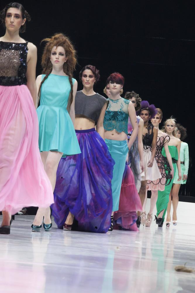 Hair Expo Awards 2015 : Walla hair show wella collection pe