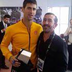 I fratelli Tessier per Internazionali BNL d'Italia - Novak Djockovich