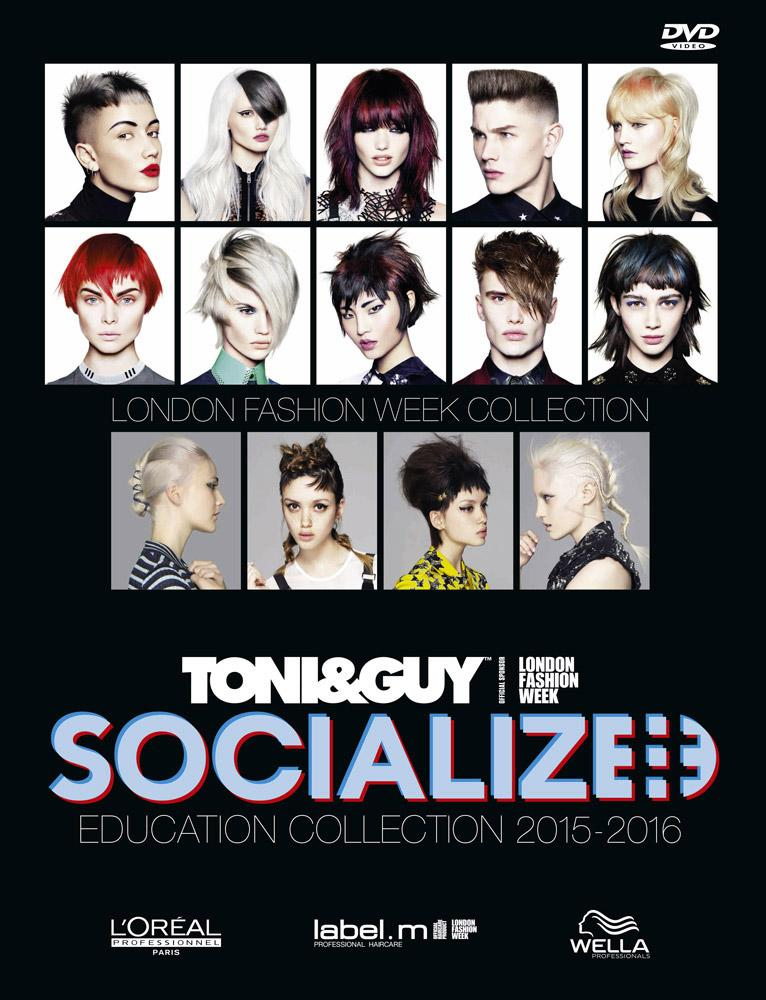 Hair Expo Awards 2015 : Toni guy socialized collection vinci libro e dvd